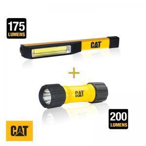 Σετ φακός τσέπης COB LED και ABS CAT Light