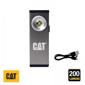 Φακός αλουμινίου επναφορτιζόμενος CAT Light