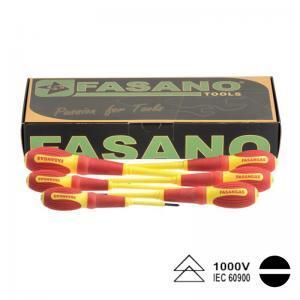 Σετ κατσαβίδια μονωμένα ίσια FASANO