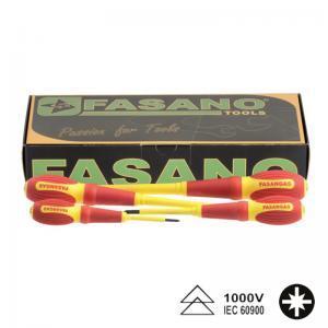 Σετ κατσαβίδια Pozidrive μονωμένα FASANO