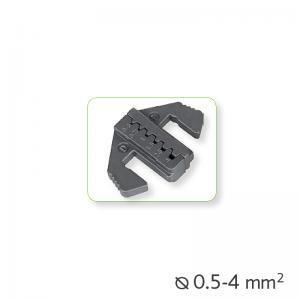 Εναλλάξιμα καλούπια πένσας για καλώδια-τερματικά Ø0.5-4mm²