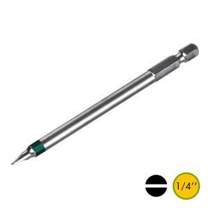 Μύτες δραπάνου 100mm ίσιες DIN3126-C6.3 1/4''