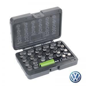 Σετ αφαίρεσης βίδες ζαντών ασφαλείας VW
