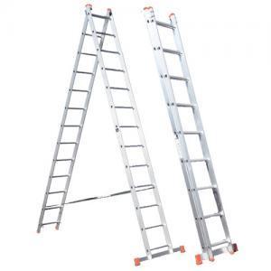 Σκάλες αλουμινίου επαγγελματικές διπλές