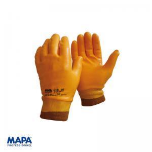Γάντια νιτριλίου λεία χωρίς ραφές ελαστική μανσέτα