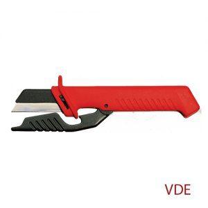 Μαχαίρι ηλεκτρολόγου με ανταλλακτική λάμα KNIPEX