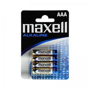 Μπαταρίες αλκαλικές ΑΑΑ LR03 MAXELL σε blister