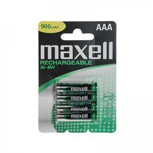 Μπαταρίες επαναφορτιζόμενες ΑΑΑ 900mAh MAXELL