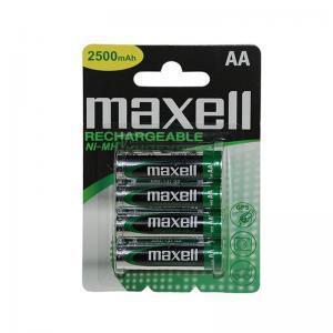 Μπαταρίες επαναφορτιζόμενες ΑΑ 2500mAh MAXELL