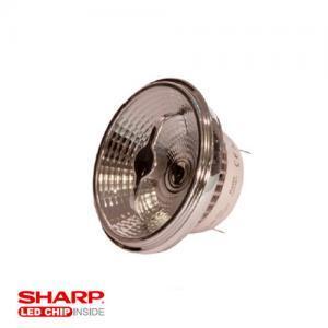 Λαμπτήρες LED ισχύος 10W AR11 G53 AC/DC-12V