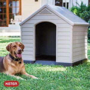 Σπιτάκι σκύλου με βάση και μόνωση KETER