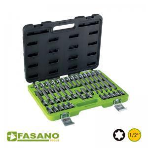 """Σετ καρυδάκια καστάνιας Torx 1/2"""" σε βαλίτσα FASANO"""