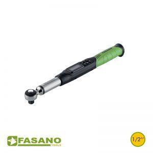 """Δυναμόκλειδο/Μοιρόμετρο ψηφιακό 1/2"""" σε κασετίνα FASANO"""