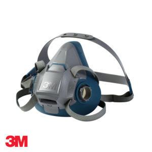 Μάσκα μισού προσώπου δύο φίλτρων σιλικόνης 3Μ