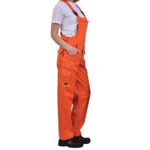 Φόρμα με τιράντα Πορτοκαλί ERGOLINE