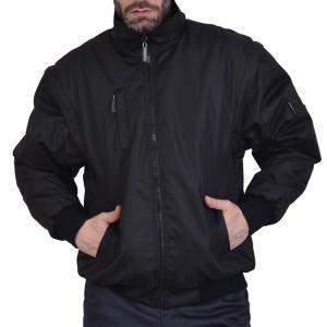 Τζάκετ ισχυρού ψύχους αδιάβροχο μαύρο REGINA