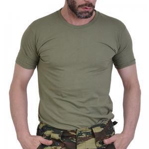 Mπλoυζάκι µακό T-shirt χακί