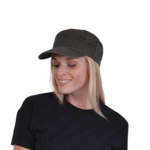 Καπέλο βαμβακερό χακί με Velcro Jockey