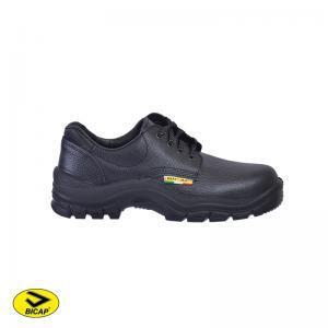 Παπούτσια δερμάτινα ανατομικά με ενίσχυση BICAP O1