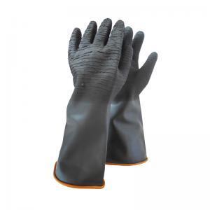 Γάντια μαρμαράδων σαγρέ μαύρα 230gr