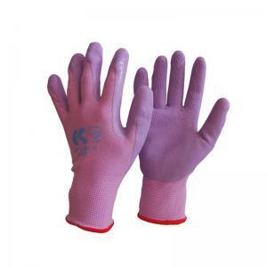 Γάντια βαμβακερά νιτριλίου λεπτά εξαιρετικής αφής μωβ
