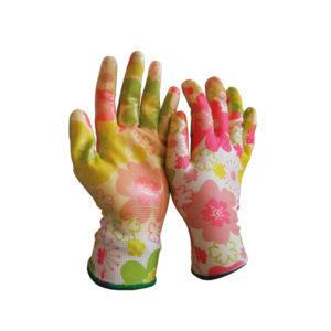 Γάντια κήπου λεπτά εμβαπτσμένα σε νιτρίλιο NBR