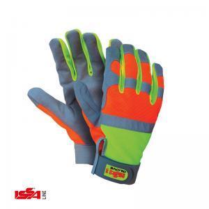 Γάντια υψηλής τεχνολογίας συνθετικό δέρμα σε παλάμη