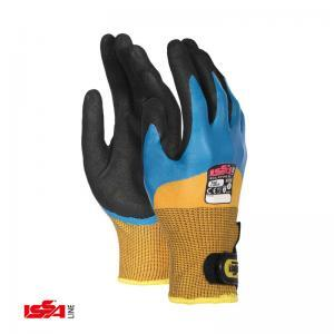 Γάντια με διπλή επικάλυψη νιτριλίου IS TAP CATCH