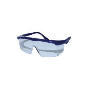 Γυαλιά ασφαλείας με ενιαίο πανοραμικό polycarbonate φακό