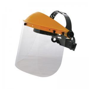 Ασπίδα προσώπου με διάφανο προστατευτικό ρυθμιζόμενη
