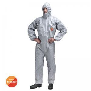 Φόρμα ολόσωμη από υγρά χημικά γκρι TYCHEM 6000F