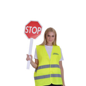 Ρακέτα STOP χειρός πλαστική