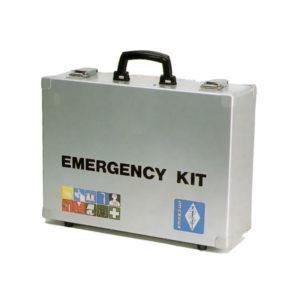 Κουτί πρώτων βοηθειών με όλα τα όργανα Emergency